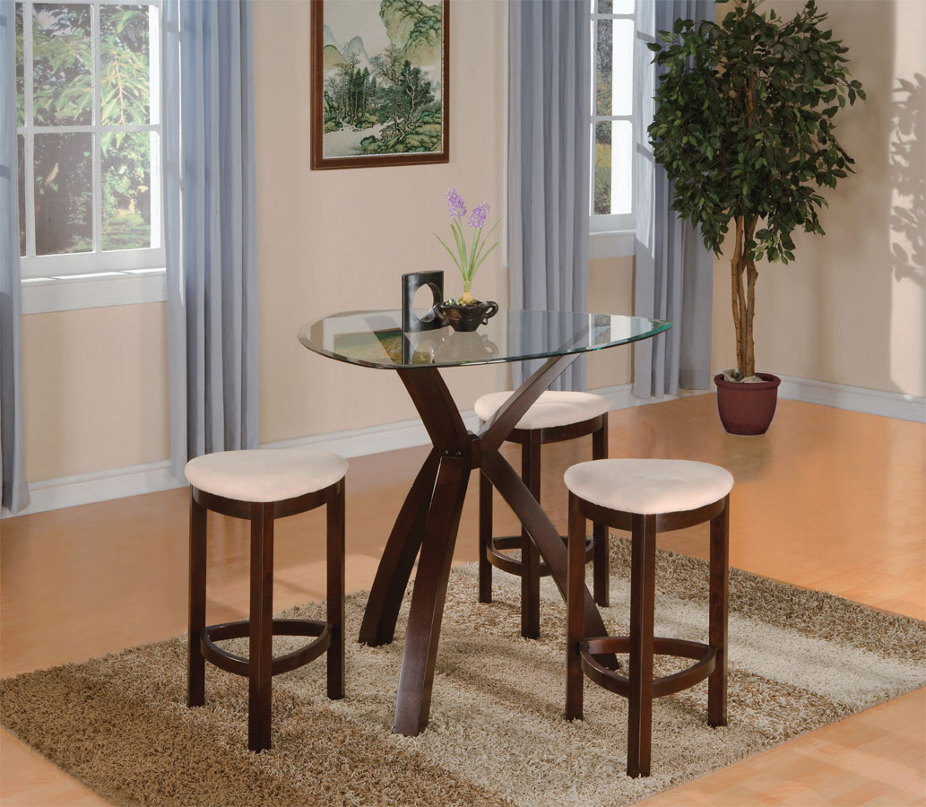 Homelegance Beaudux 4-Piece Counter Height Dining Set