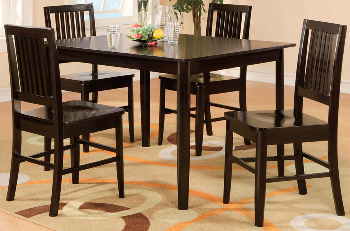 Homelegance Curtis 5-Piece Pack Dinette