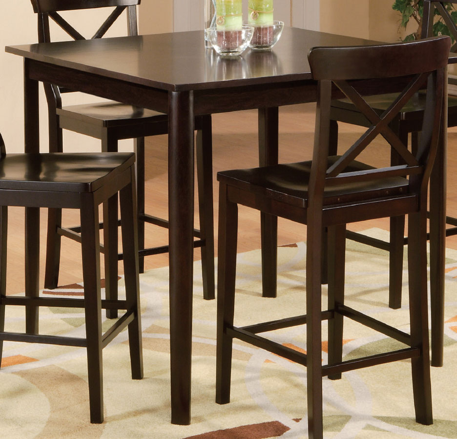 Counter Height End Table : Homelegance Blossom Hill Counter Height Table 5385-36 at Homelement ...