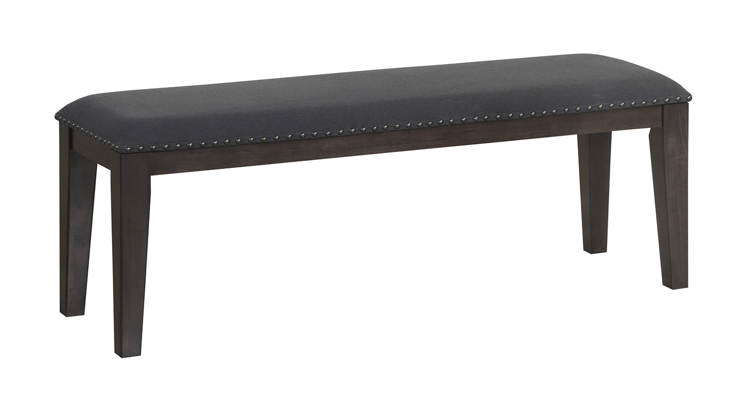 Homelegance Larchmont Bench - Charcoal