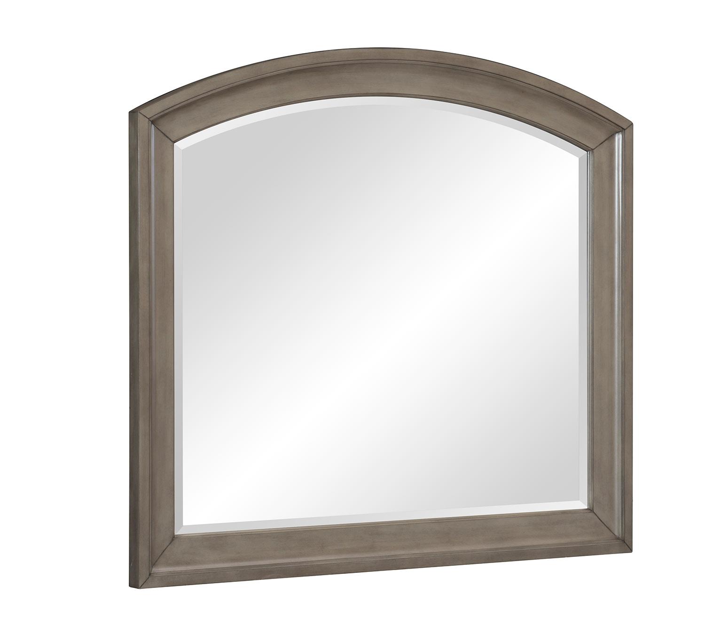 Homelegance Vermillion Mirror - Bisque Finish with Oak Veneer