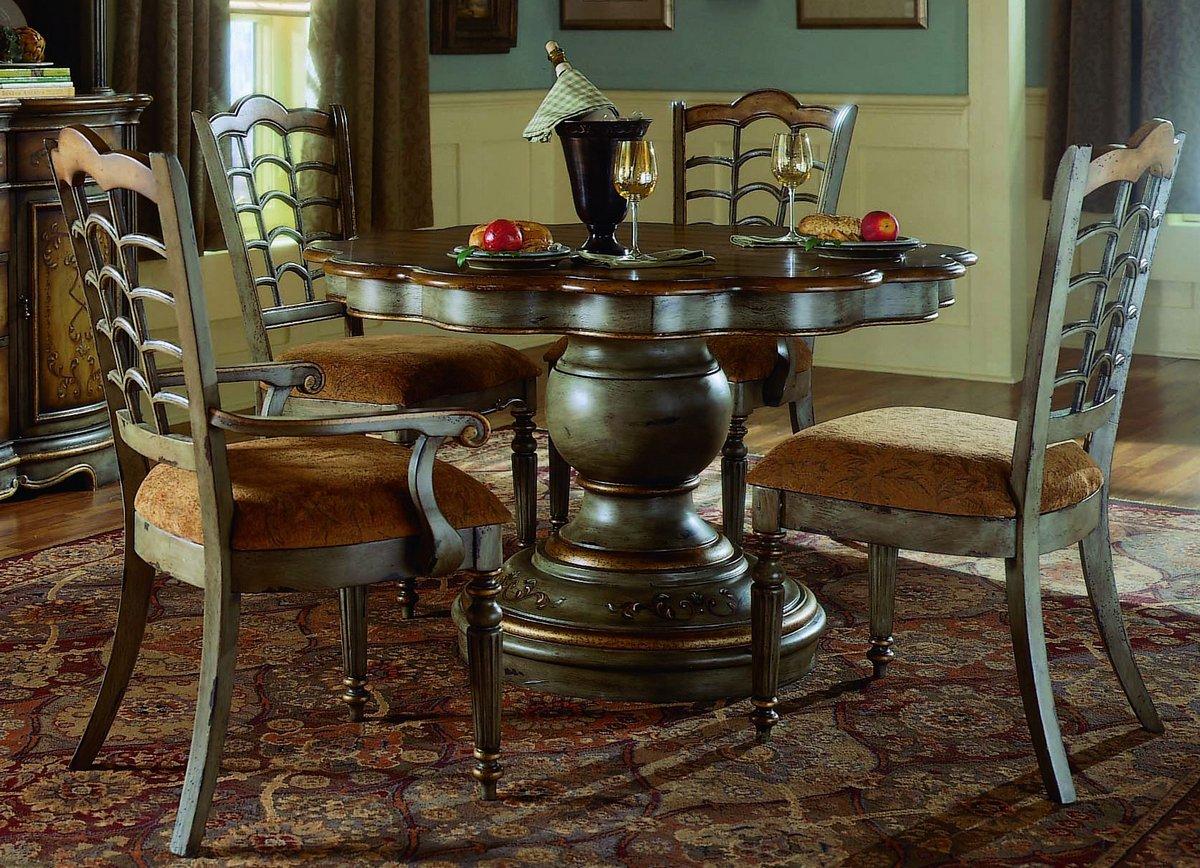 Pulaski Robins Egg Round Dining Collection