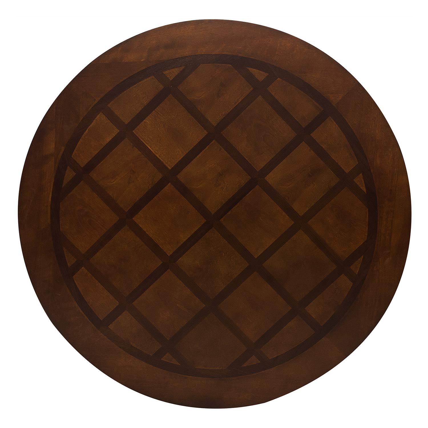 Homelegance Lordsburg Round Dining Table - Brown Cherry