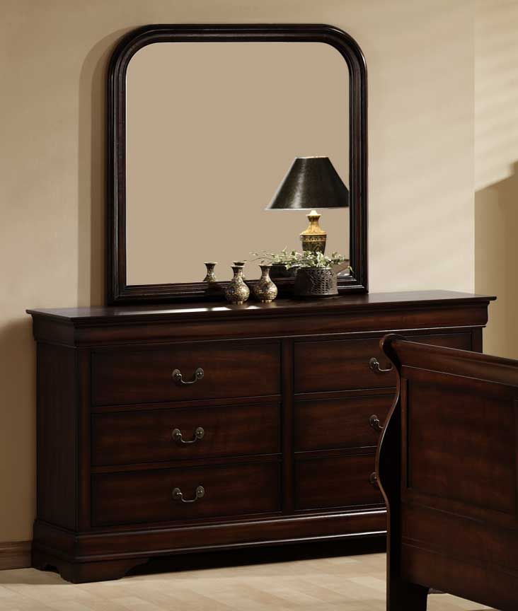 Homelegance Chateau Brown Mirror