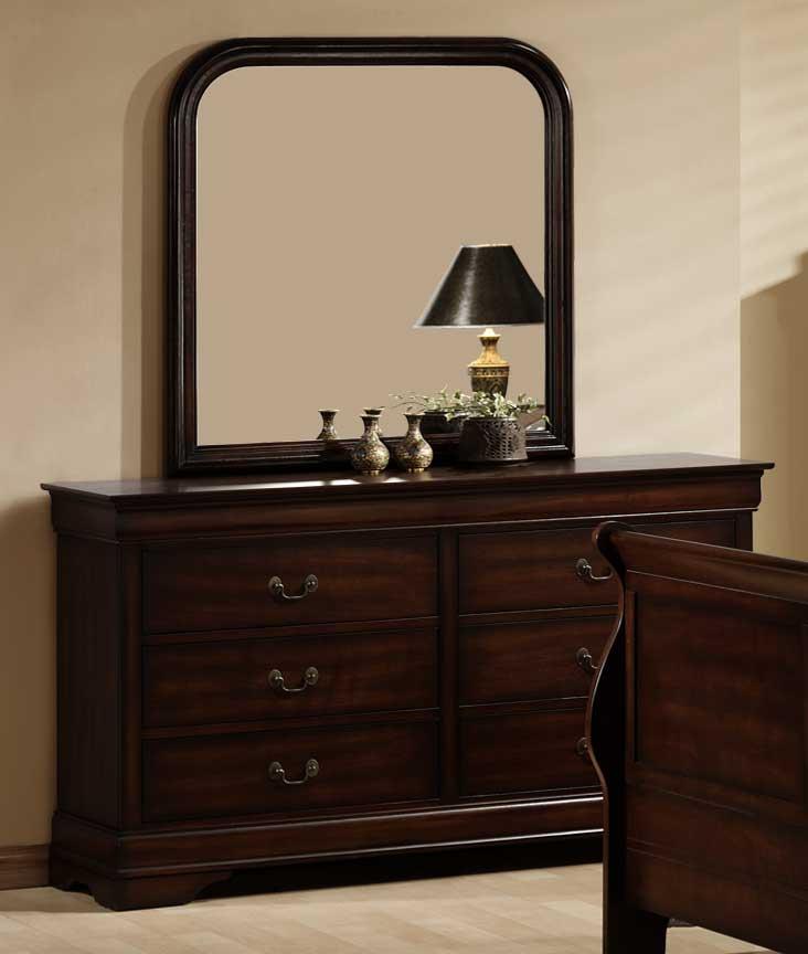 Homelegance Chateau Brown Bedroom Set
