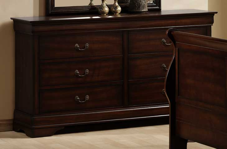 Cheap Homelegance Chateau Brown Dresser