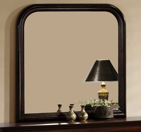 Cheap Homelegance Chateau Brown Mirror
