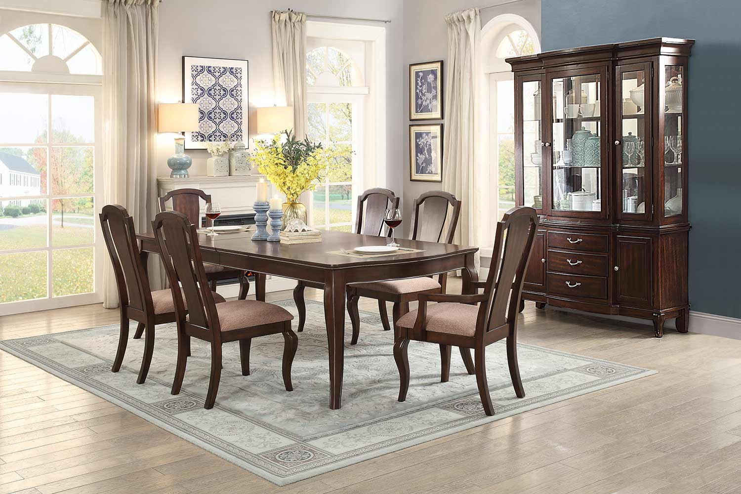 Homelegance Coleraine Dining Set - Cherry