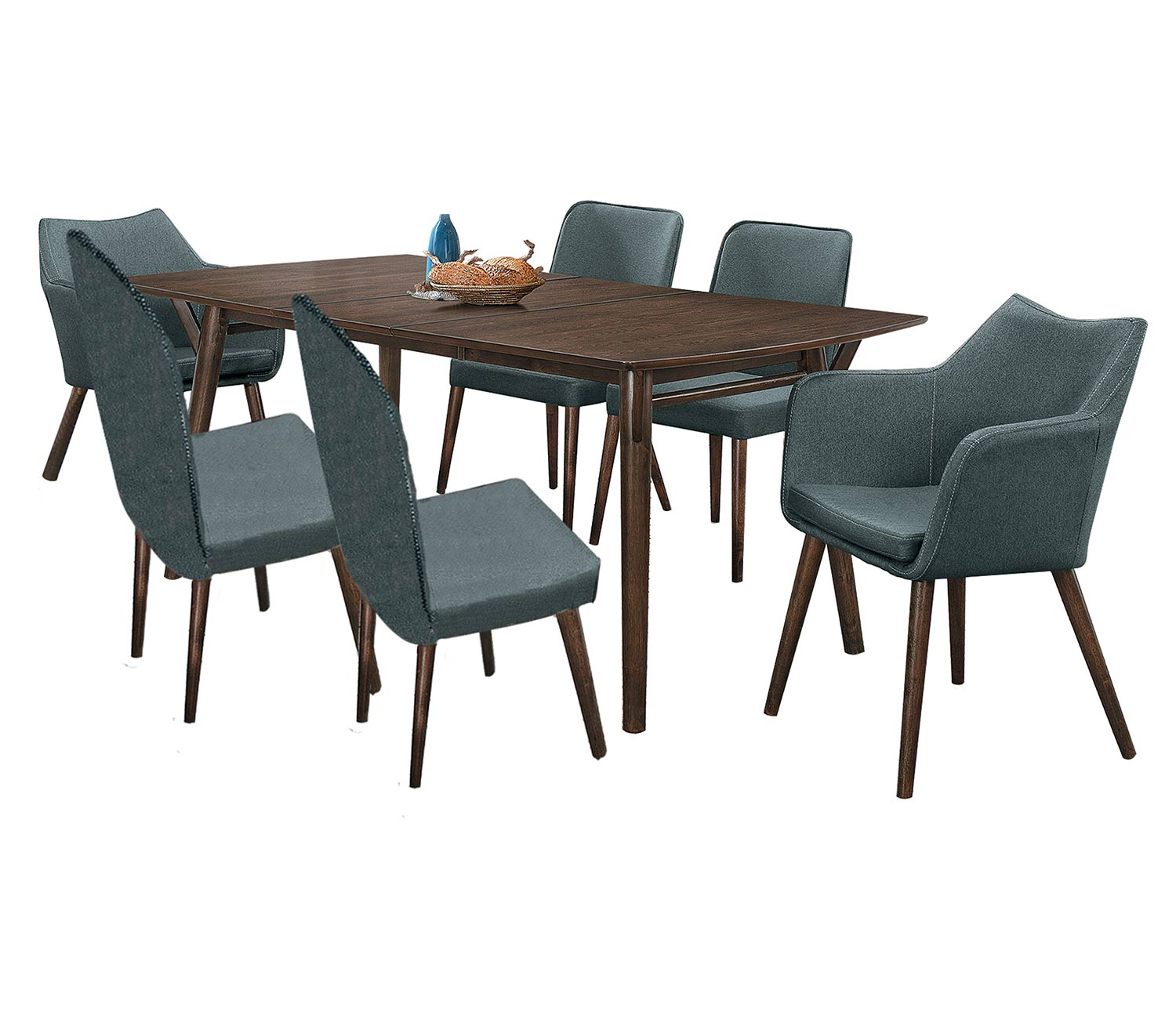 Homelegance Stratus Dining Set - Dark