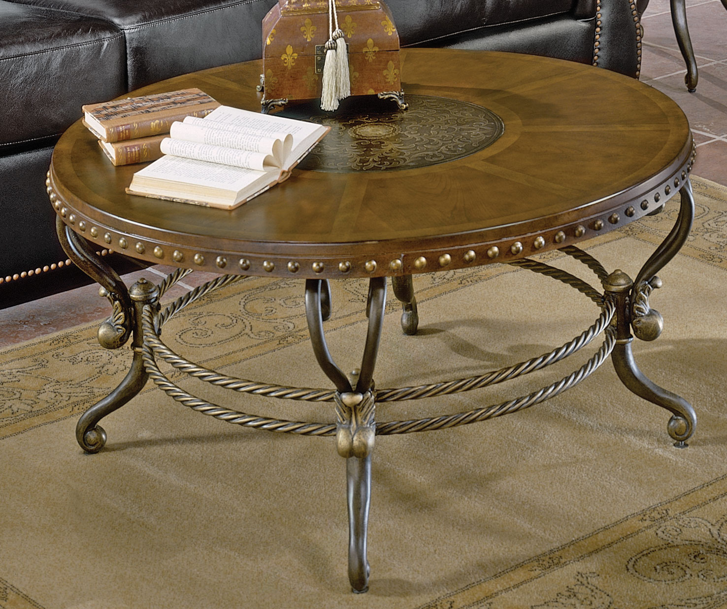 Homelegance 5553 Series Round Cocktail Table 5553-01