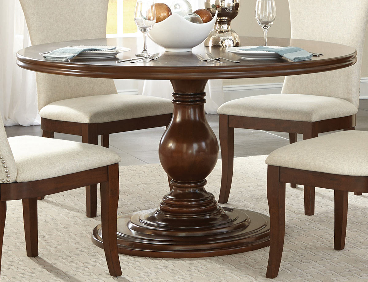 Homelegance Oratorio Round Dining Table - Cherry