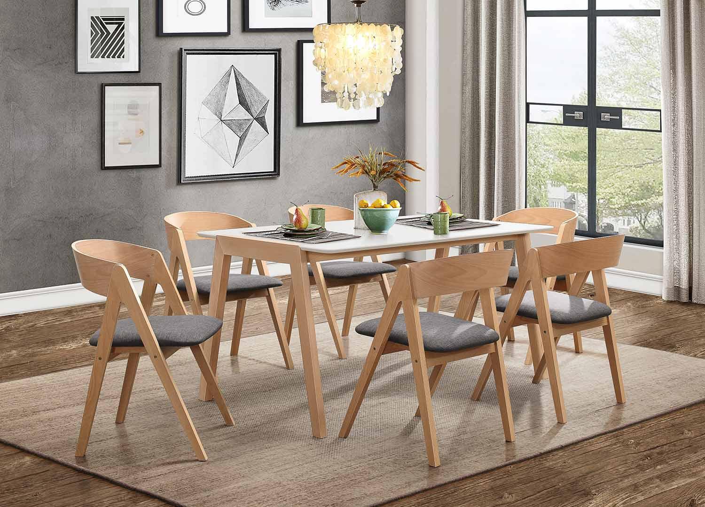 Homelegance Misa Dining Set - Natural