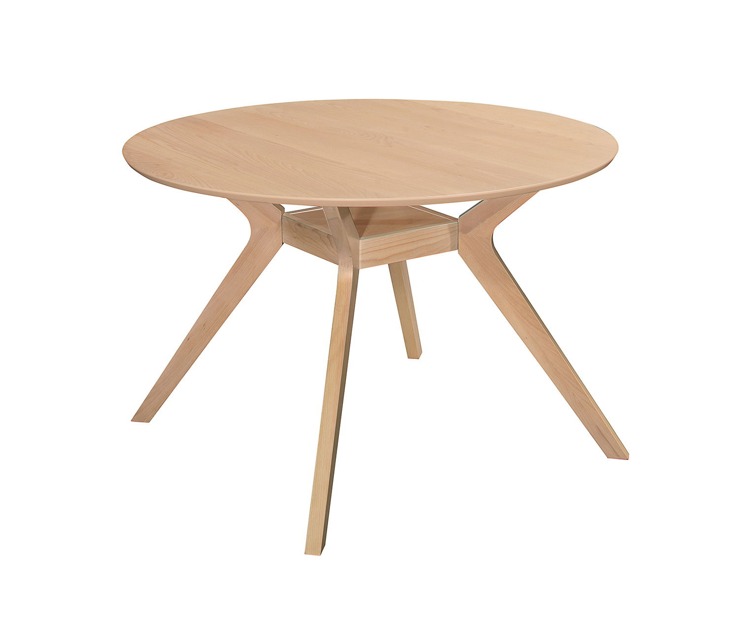 Homelegance Hamar Round Dining Table - Natural