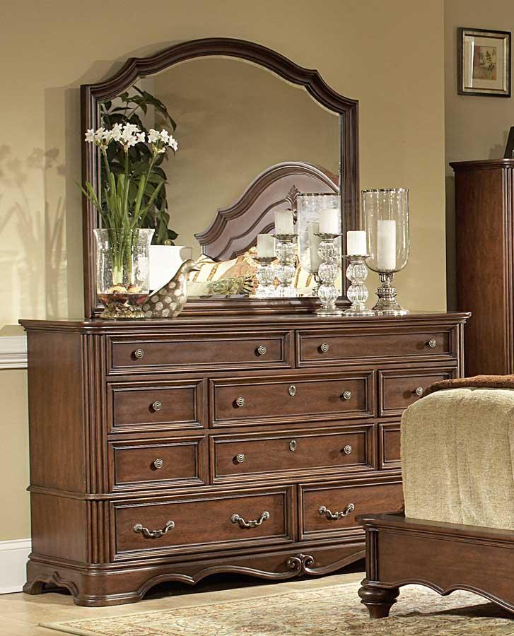 Homelegance stanfordson sleigh bedroom set b558sl at for Oak bedroom furniture 0 finance