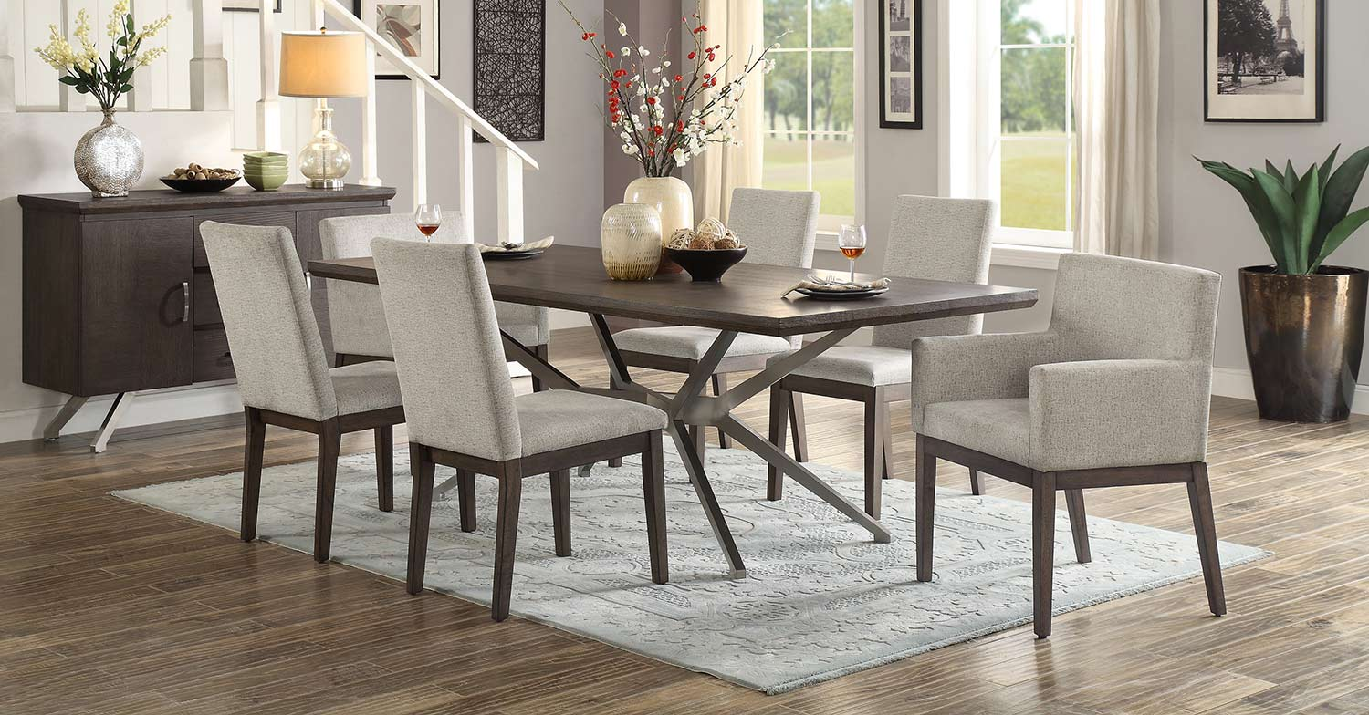 Homelegance Ibiza Dining Set - Light Oak