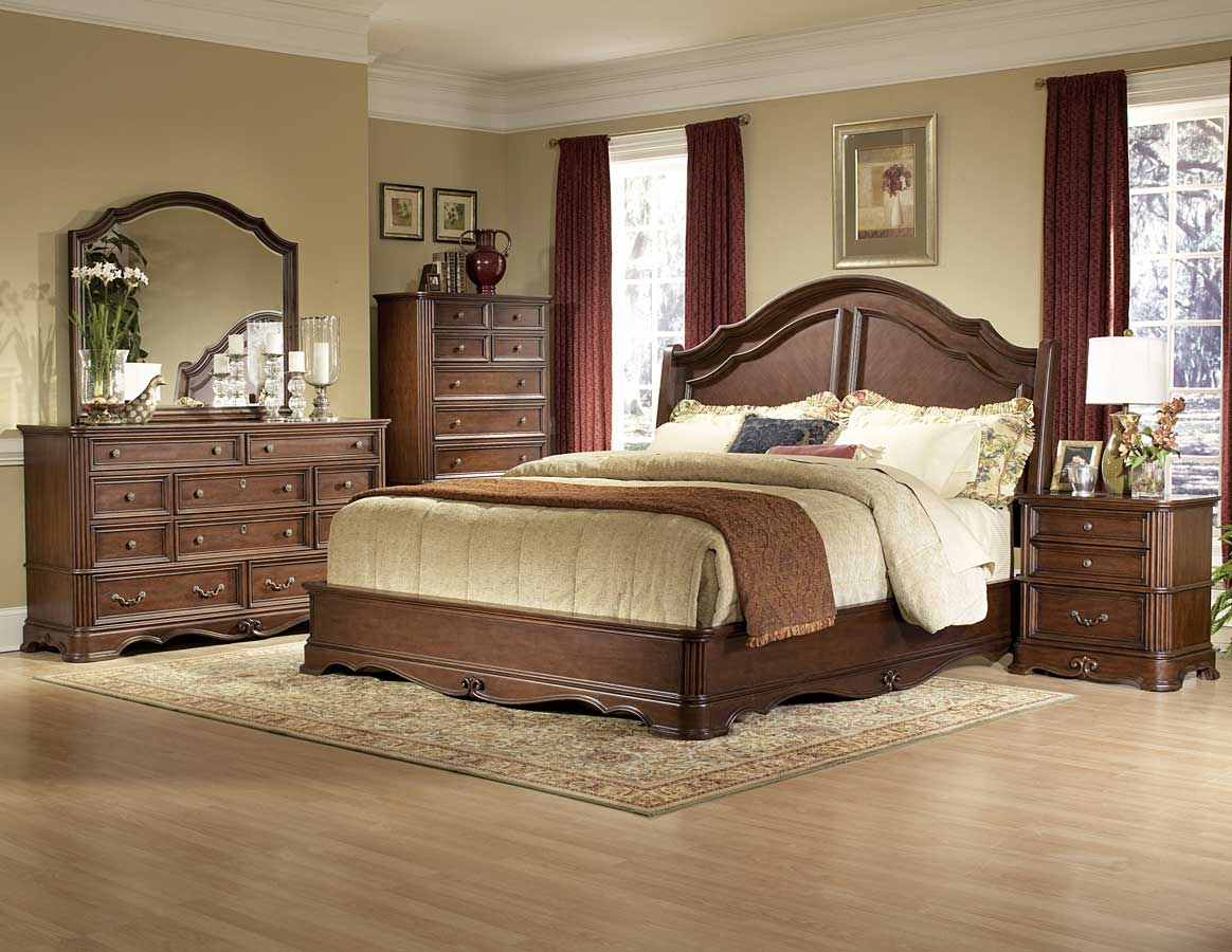 Stanfordson Sleigh Bedroom Set Homelegance B558sl Traditional