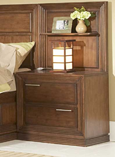 Homelegance Huntington Night Stand Wall Panel