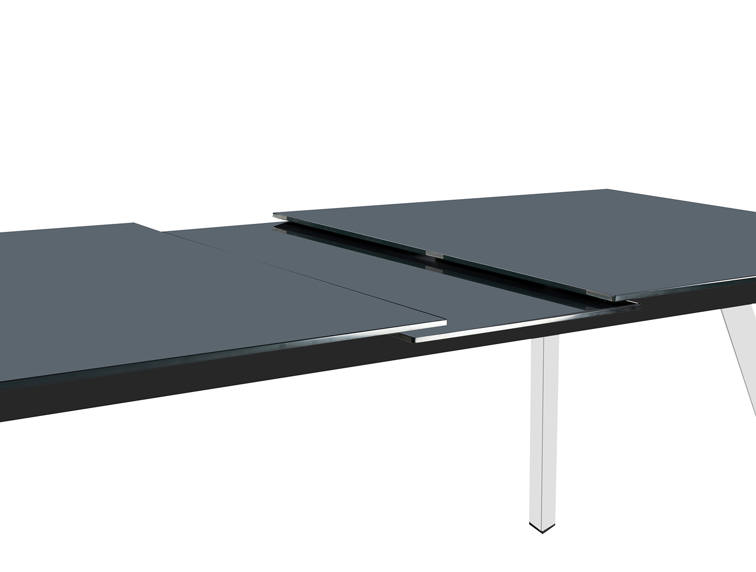 Homelegance Chromis Dining Table - Grey - Grey Bi-Cast Vinyl