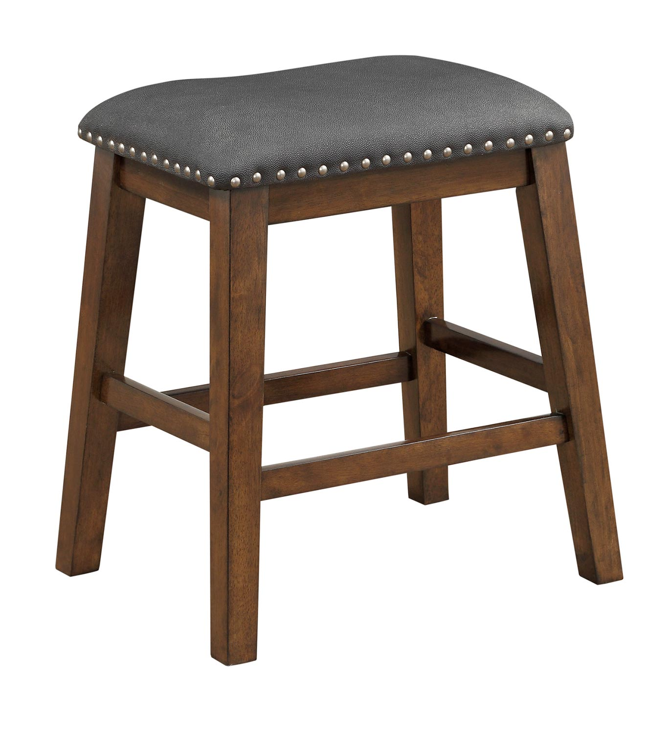 Homelegance Brindle Counter Height Stool - Brown