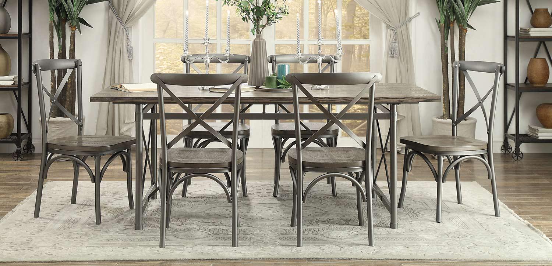 Homelegance Springer Dining Set - Weathered Gray