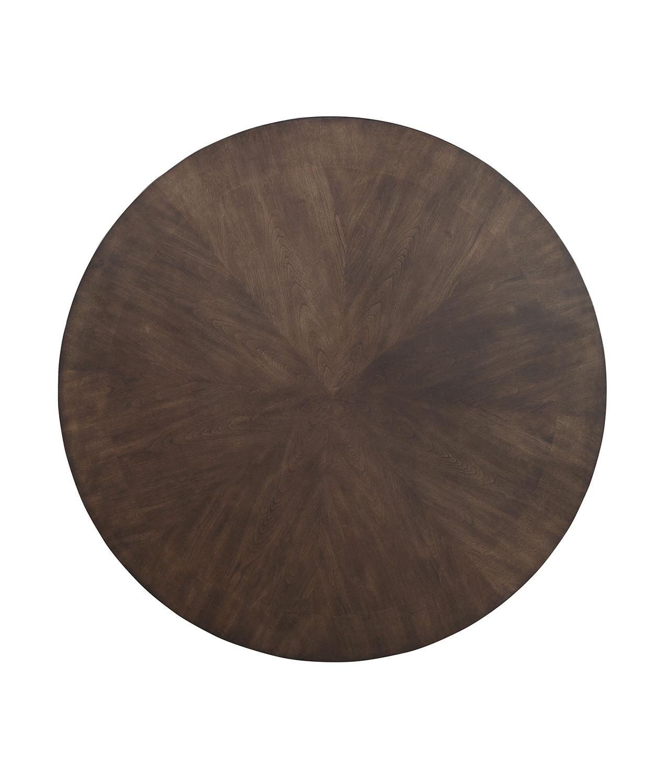 Homelegance Ante Round Dining/Game Table - Dark Brown
