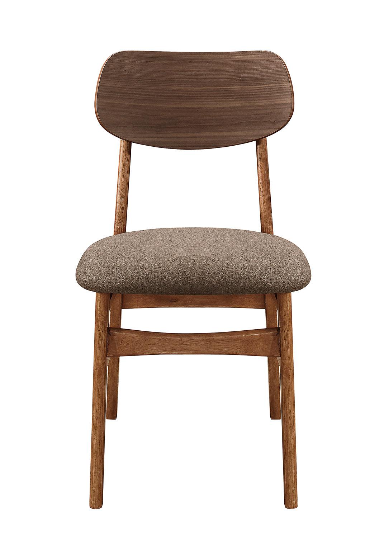 Homelegance Paran Side Chair - Natural Walnut