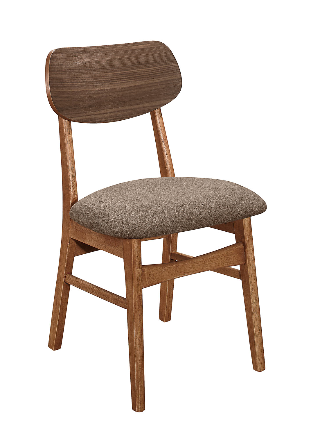 Homelegance Paran Side Chair - Natural Walnut