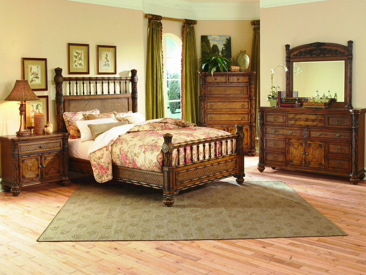 Homelegance Tropical-Island Bedroom Collection