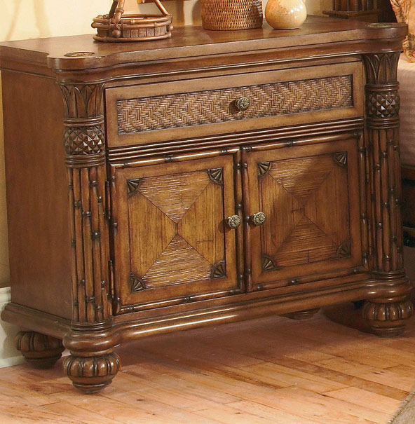 Homelegance Tropical-Island Night Stand
