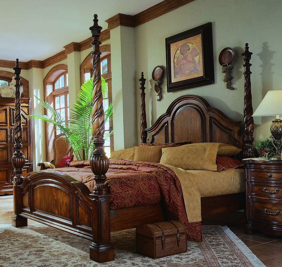 pulaski bedroom sets. Add additional pieces that match the set  Please review and adjust quantity of items as necessary The total price above will be adjusted Pulaski La Habana Sleigh Bedroom Collection PF B562185 at