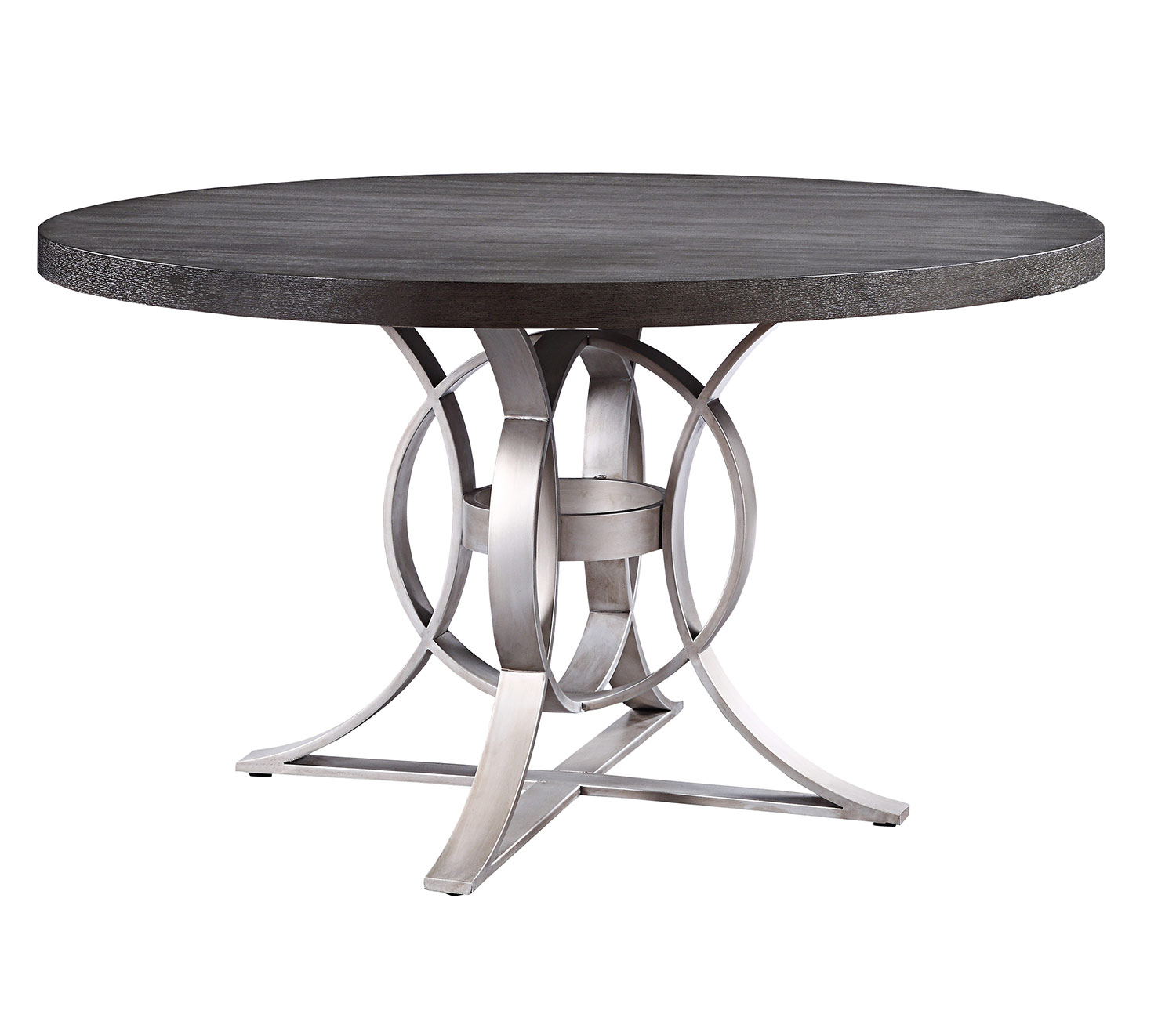 Homelegance Standish Round Dining Table - Gray