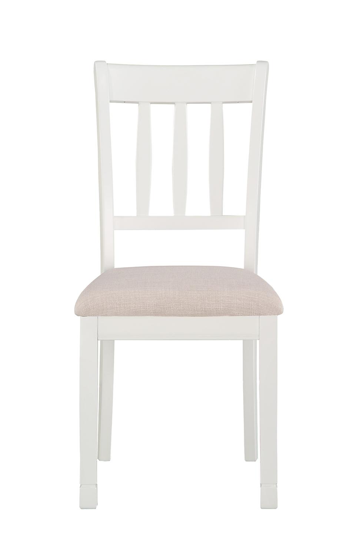 Homelegance Nadalia Side Chair - White