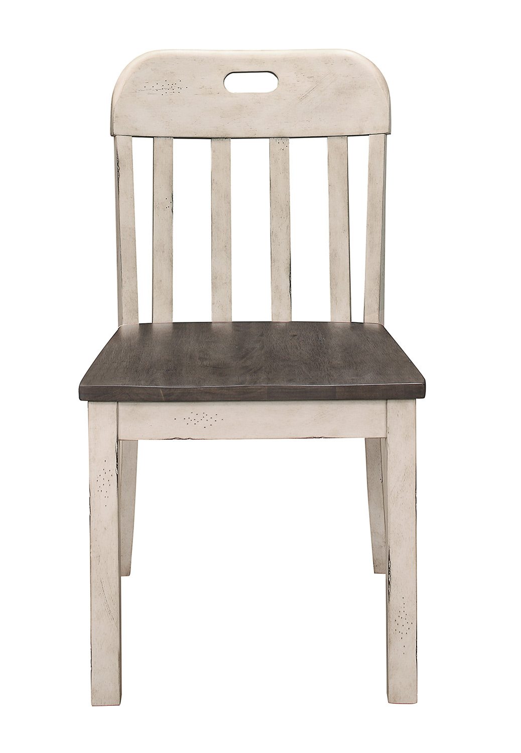 Homelegance Clover Side Chair - Rustic Gray
