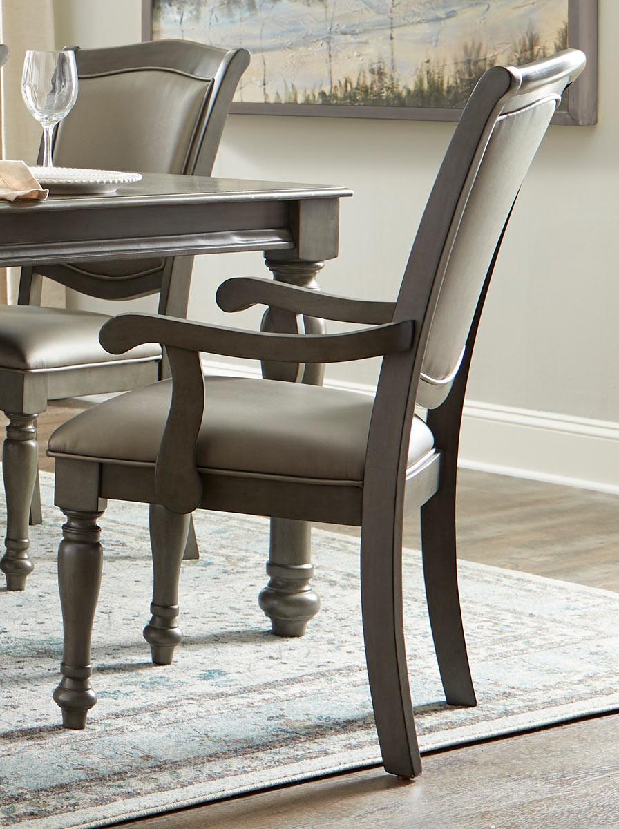 Homelegance Summerdale Arm Chair - Birch veneer