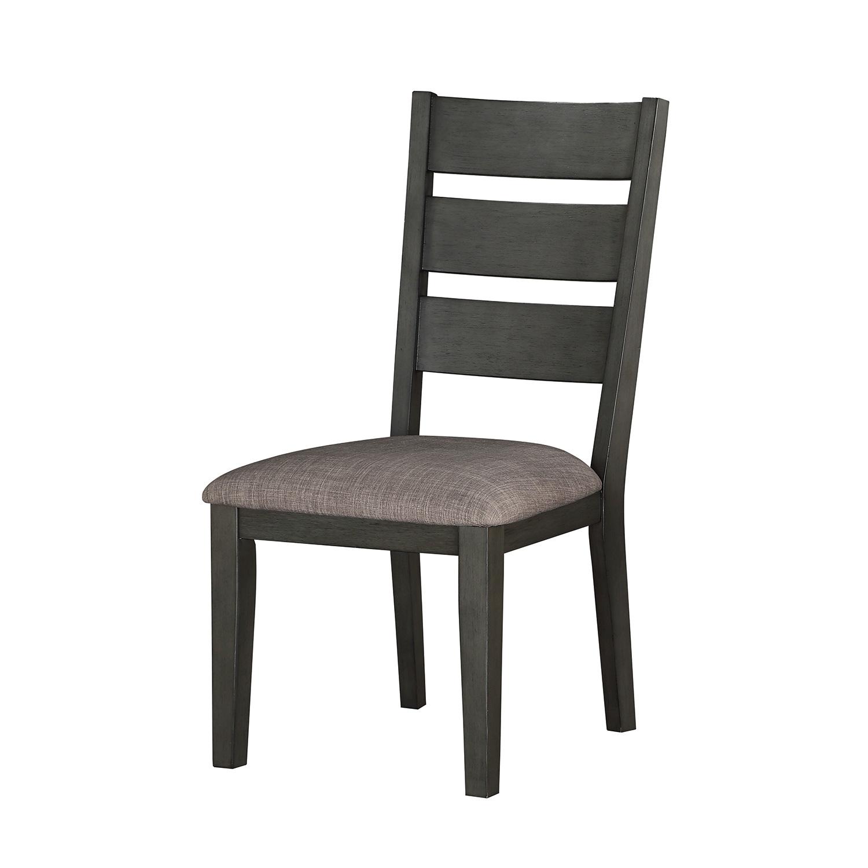 Homelegance Baresford Side Chair - Gray