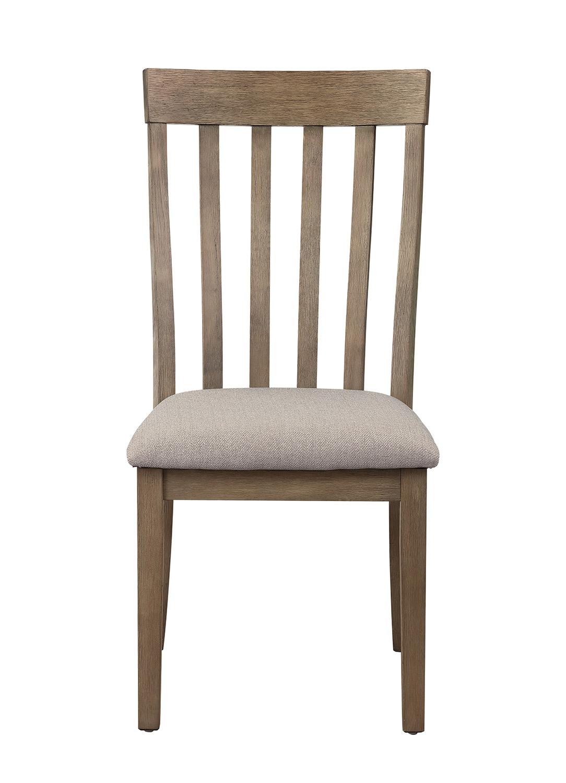 Homelegance Armhurst Side Chair - Brown
