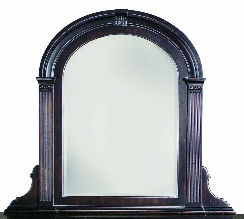 Pulaski Ebony Carlton Manor Mirror