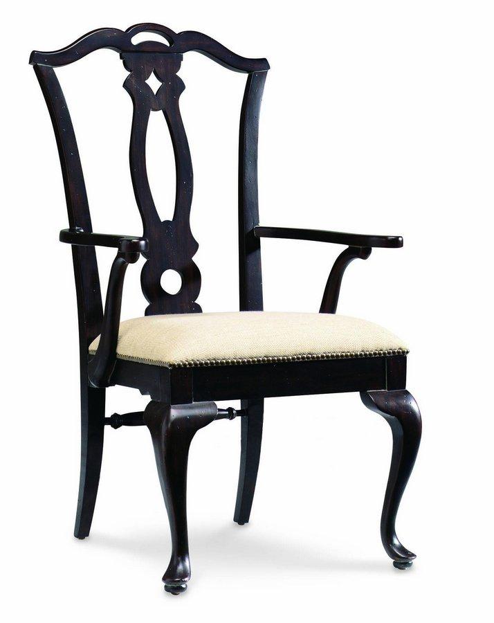 Pulaski Ebony Carlton Manor Arm Chair