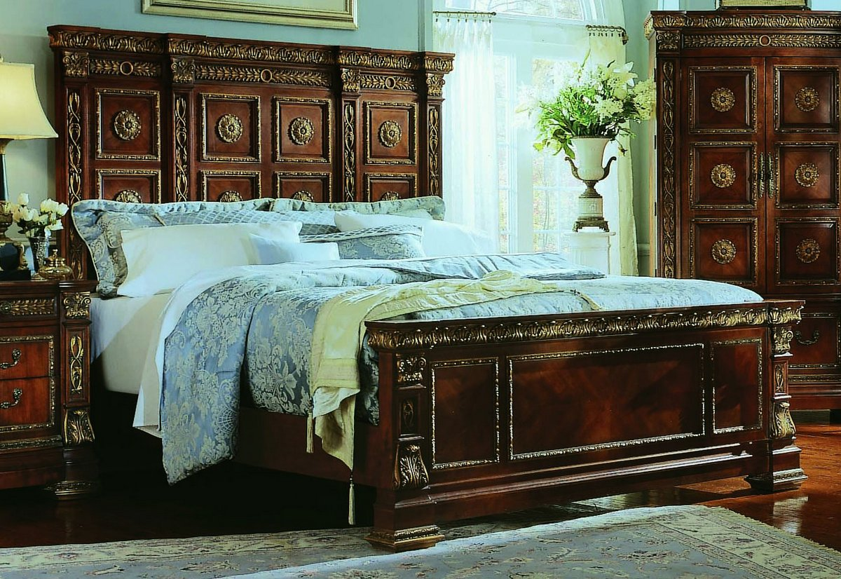 pulaski royale poster bedroom collection pf b575150 at. Black Bedroom Furniture Sets. Home Design Ideas