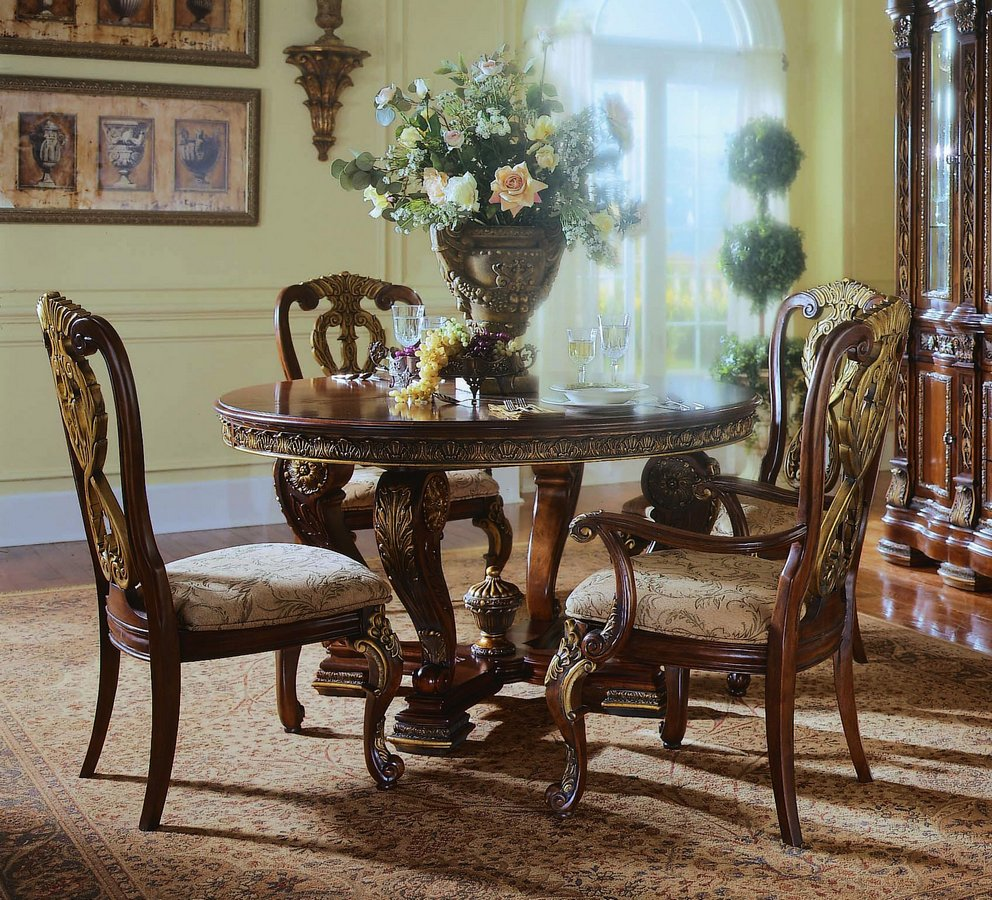 Formal Dining Room Furniture Manufacturers: Pulaski Royale Round Dining Collection PF-D575232 At