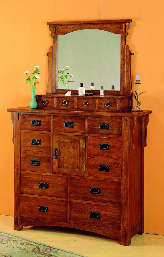 Homelegance Arlington Tilting Mirror with Storage Drawers