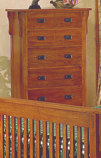 Homelegance Arlington 6 Drawer Chest