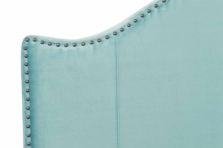 Homelegance Carlow Upholstered Bed - Teal