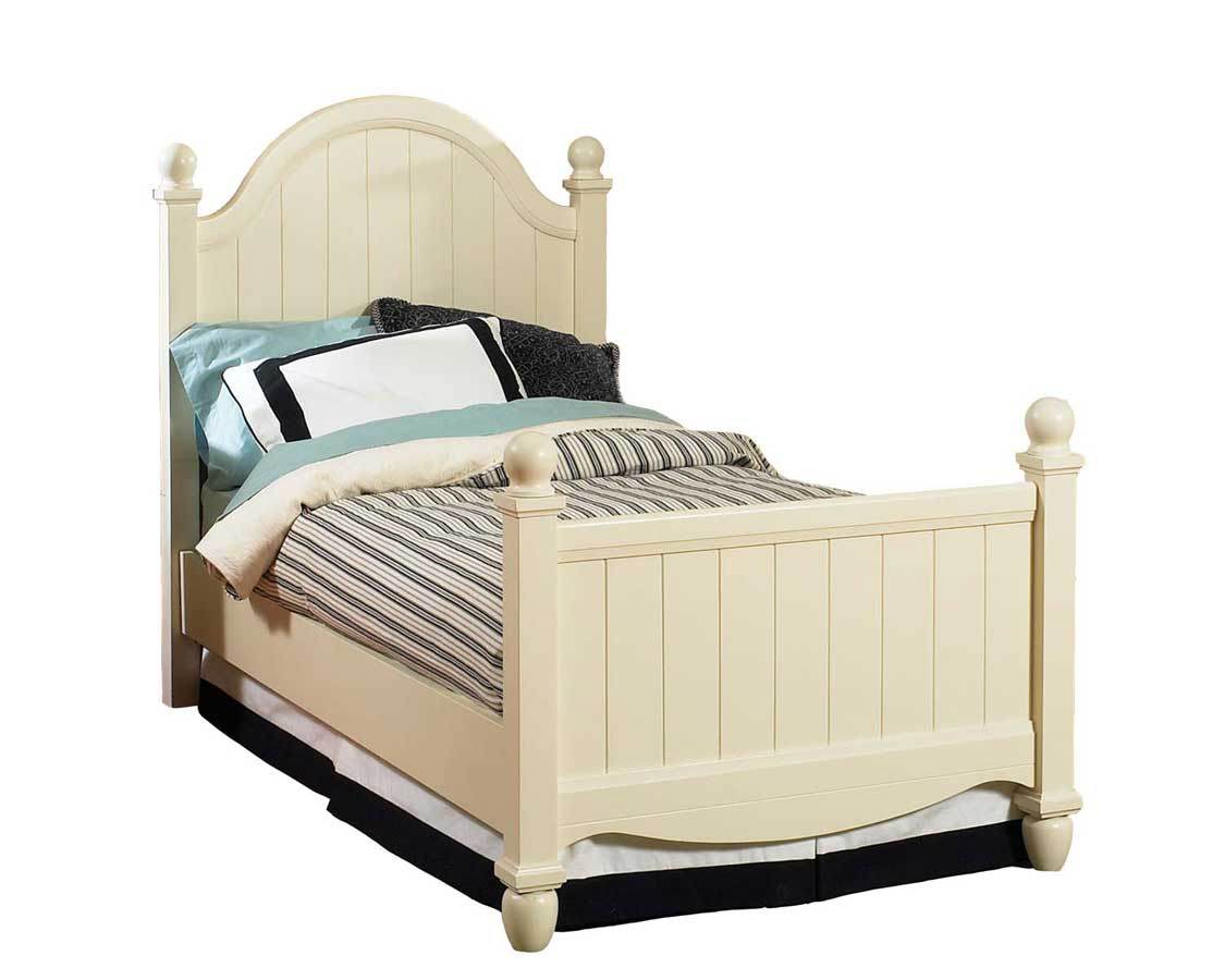 Home styles canopy oaks twin bed buy kids furniture online for Cheap white twin bed
