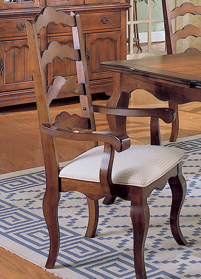 Homelegance Countryside Ladder Back Arm Chair