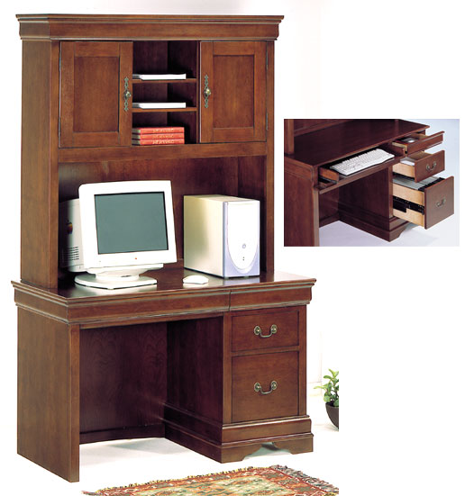 Homelegance Antoinette Desk with Hutch