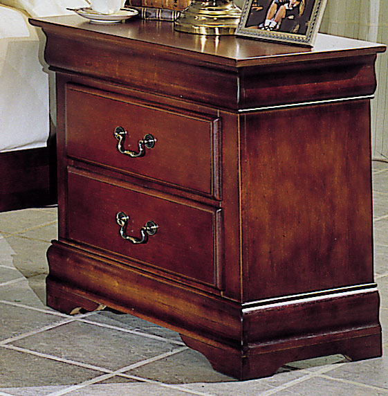 Homelegance Waller Night Stand with Hidden Drawer
