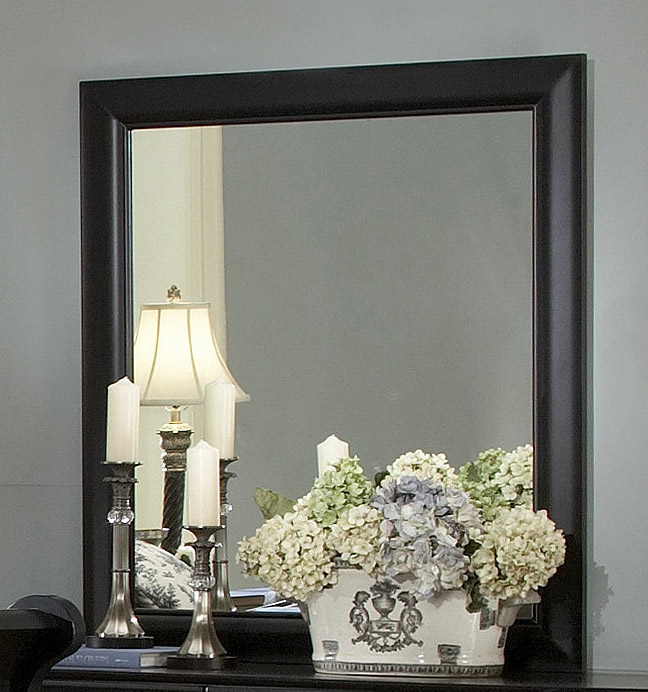 Homelegance Bastille Mirror in Black