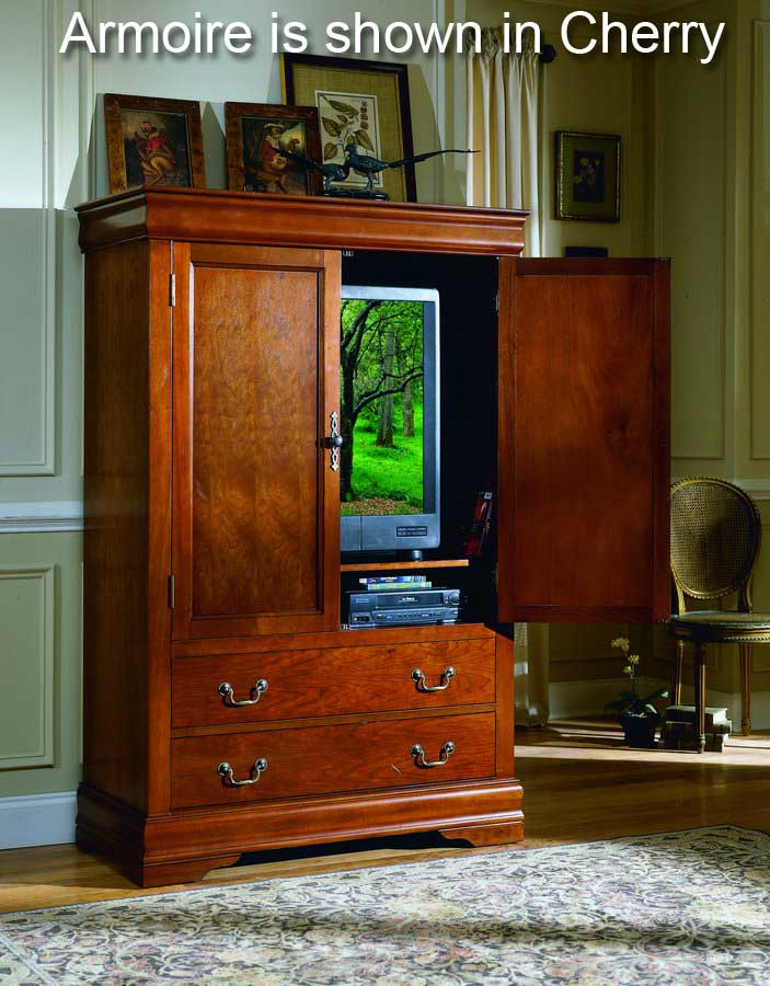 Homelegance Bastille Armoire in Black