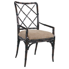 Cheap Traditional Accents Faux Bamboo Chair